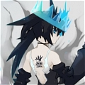 Black Rock Shooter Beast Cosplay from Black Rock Shooter