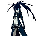 Black Rock Shooter Cosplay (Pilot Edition) Da Black Rock Shooter