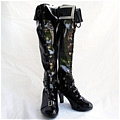Black Rock Shooter Shoes (D057) Da Black Rock Shooter