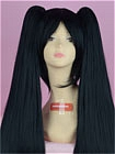 Black Wig (Long,Straight,Miku Zatsune)