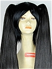 Black Wig (Clips on,Long,Zatsune)