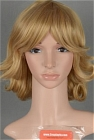 Blonde Wig (Curly, Medium,Barnaby)