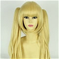 Blonde Wig (Short,Curly,Tsukumo)