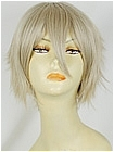 Blonde Wig (Grey Blonde,Spike,Ukraine)