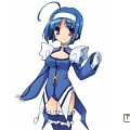 Blue Angel Cosplay from Kaito Tenshi Twin Angel