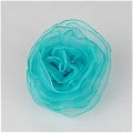 Blue Flower Brooch 
