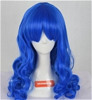 Blue Wig (Long,Wavy,B26)
