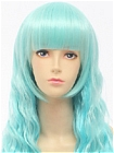 Blue Wig (Long, Weavy, Lolita, 15)