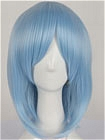 Blue Wig (Medium,Straight,Hekate)