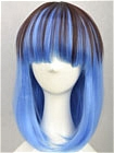 Blue Wig (Mixed,Straight,Lolita,A17)