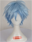 Blue Wig (Short,Spike,B33)