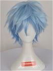 Blue Wig (Short,Spike,B33)