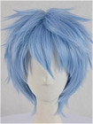 Blue Wig (Short,Spike,Kuroko)