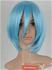 Blue Wig (Short, Straight,Rei,CF28)