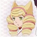 Bonbori Wig from Otome Yokai Zakuro