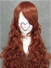 Brown Wig (Long,Curly,B25)