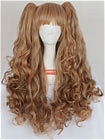 Brown Wig (Long,Wavy,Clips on)