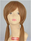 Brown Wig (Medium,Straight,Shizuku)