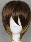 Brown Wig (Mixed,Short,Spike)