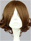 Brown Wig (Short,Curly,Tsubaki)