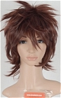 Brown Wig (Short,Spike,Suzaku)