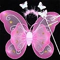 Butterfly Wing (Pink 3 Pieces Set)