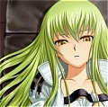 C.C. Cosplay Wig from Code Geass