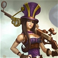 Caitlyn Cosplay Da League of Legends