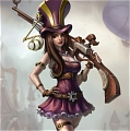 Caitlyn Costume (2nd) Da League of Legends