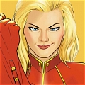 Captain Marvel Cosplay from Superhero