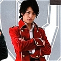 Captain Marvelous Cosplay (Dark Red) Desde Kaizoku Sentai Gokaiger