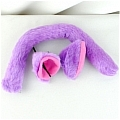 Cat Ears Tail (Purple Tails Set) from Tokyo Mew Mew