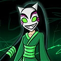 Cheshire Cosplay Desde Teen Titans