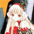 Chii Cosplay (red) from Chobits