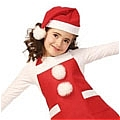 Children Christmas Apron and Cap (Grace)