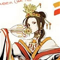 China Cosplay (Queen) Da Hetalia Axis Powers