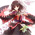 Chizuru Cosplay (Pink and Black Kimono) from Hakuouki