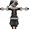 Sora Costume (Christmas Town) from Kingdom Hearts