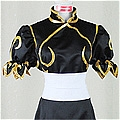 Chun Li Cosplay (031-C02 Black) Desde Street Fighter