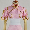 Chun Li Cosplay (031-C03 Pink) De  Street Fighter