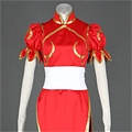 Chun Li Cosplay (031-C04 Red) De  Street Fighter