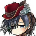 Ciel Cosplay (2nd Red Costume) Desde Black Butler
