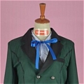 Ciel Cosplay (Green,Stock) De  Personnages de Black Butler