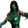 Classic Jade Cosplay from Mortal Kombat