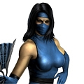 Classic Kitana Cosplay from Mortal Kombat