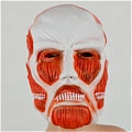 Colossal Titan Mask from Attack On Titan