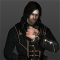 Corvo Cosplay (Black) from Dishonored