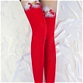 Costume Stockings (Christmas Red 15)
