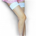 Costume Stockings (Lake Blue 01)
