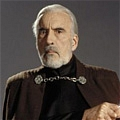 Conde Dooku Cosplay Desde Star Wars